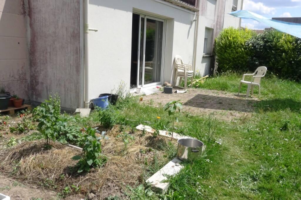 Jardin - potager, terrasse