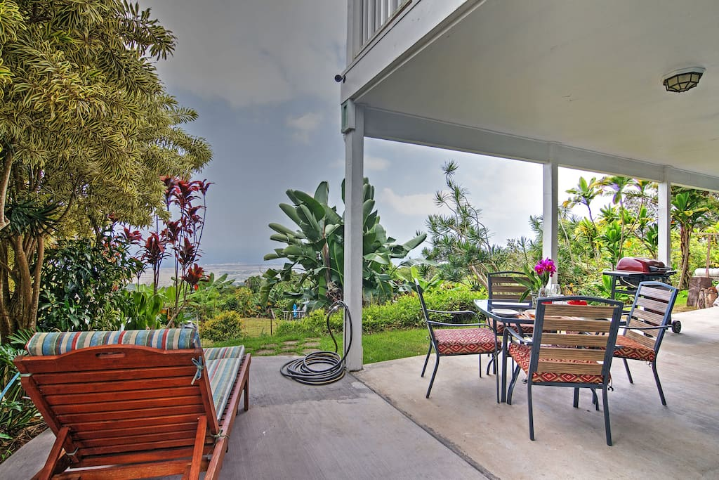 Enjoy spectacular views from the patio!
