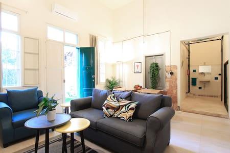 Lebanese flat with Garden & Flying Bed - MarMkhael