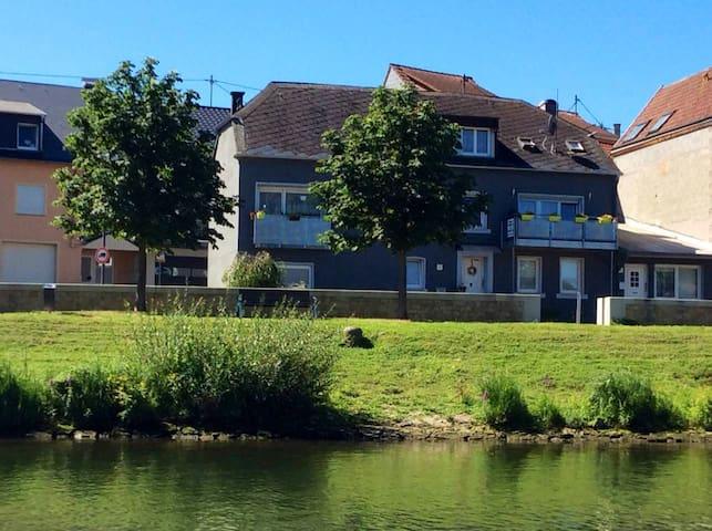 Studio Moselblick direkt an derLuxemburger Grenze