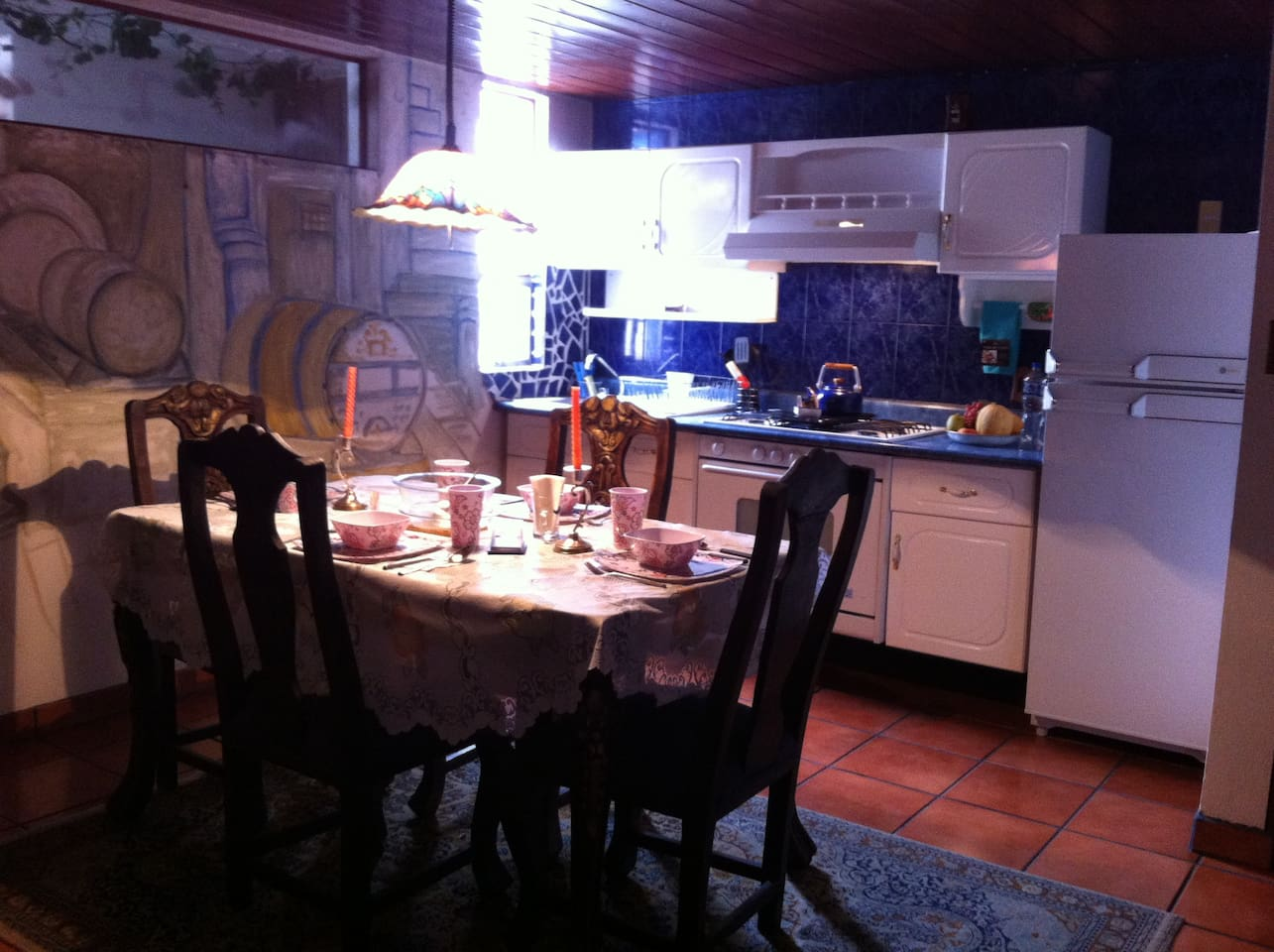 Cocina totalmente equipada/ Fully equipped kitchen