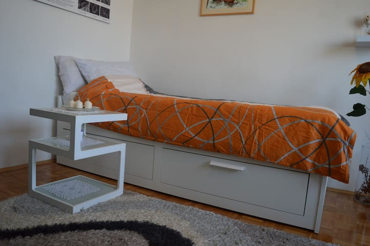 Holiday private room New Zagreb (WiFi,TV, parking)