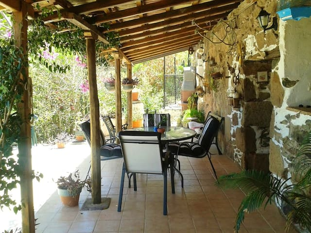 House with 3 bedrooms in Agüimes, Las Palmas, with wonderful sea view and furnished garden - 20 km from the beach