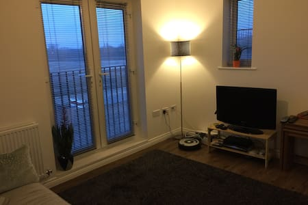 Private room in new apartment - Bletchley