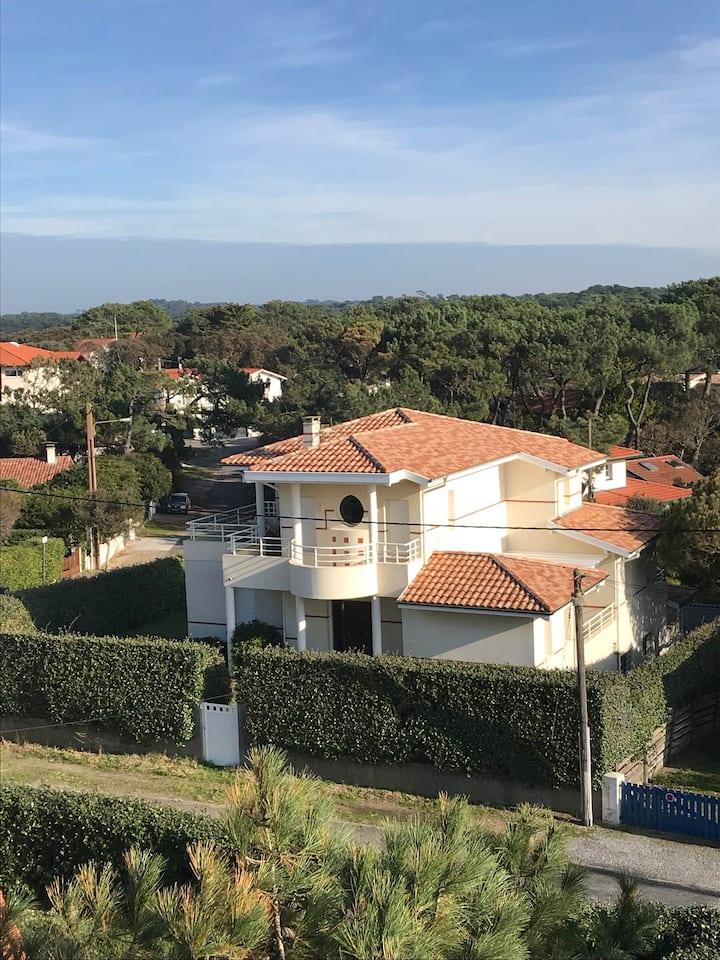 Somptueuse Villa vue mer à Hossegor jardin/piscine