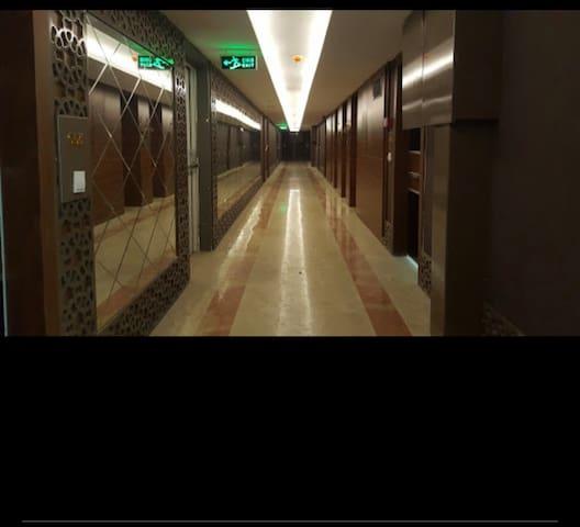 Aisle of the floor