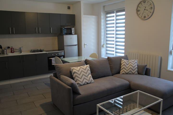 Appartement 45 m2 dans fermette rénovée