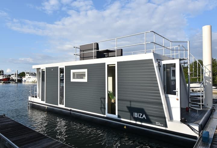 Floating Boatlodge Ibiza, tiny house, max. 4 p.