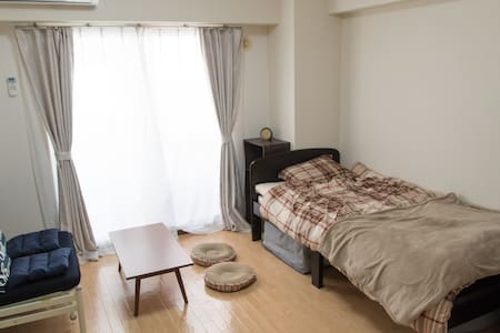 5min fm JR Sakuragicyo sta. High-Speed Pocket WiFi - Yokohama - Apartment
