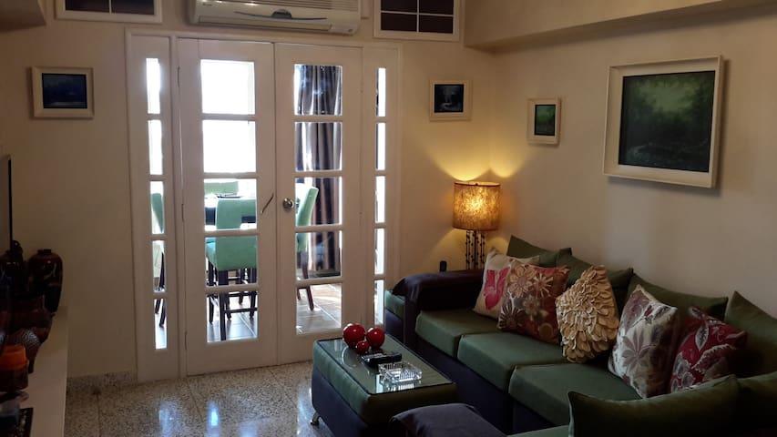 Comfortable apartment, 2 bedrooms, in Nuevo Vedado