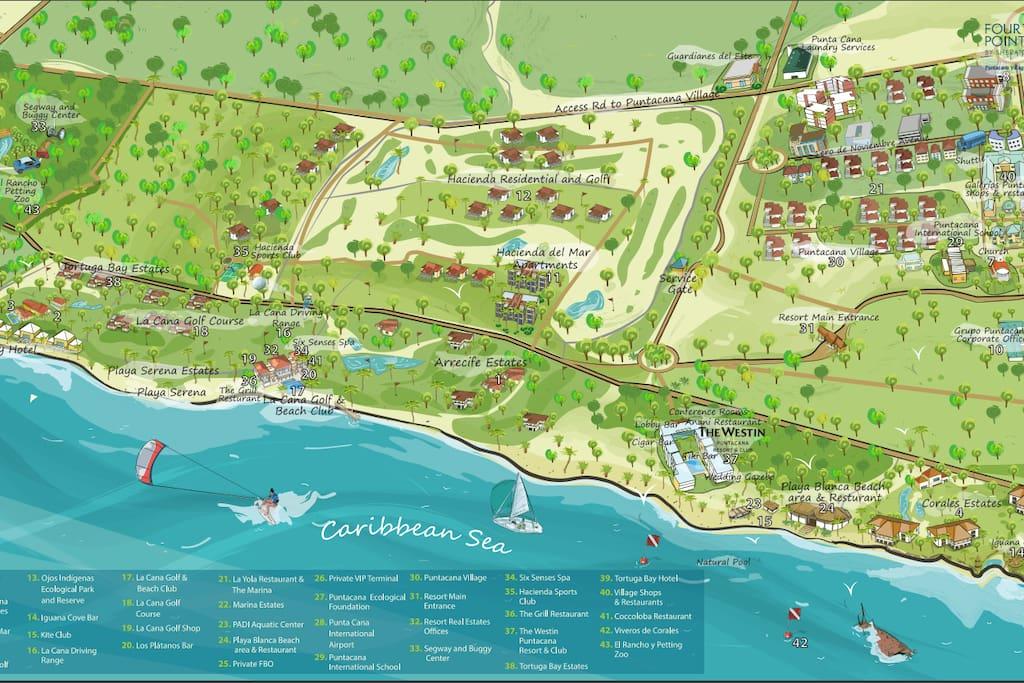 Resort Area Map