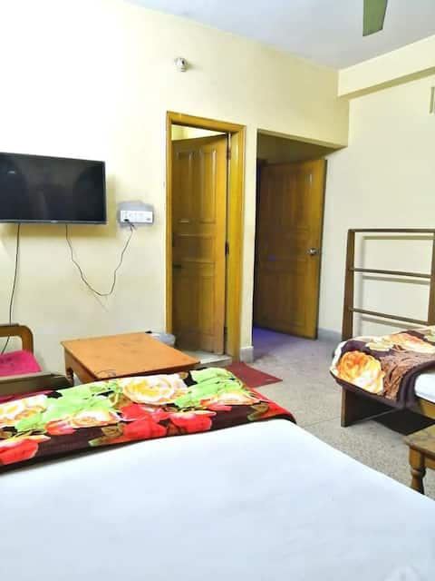 Hotel room in Chittagong city centre