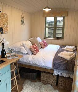 The Shepherds Hut in Haxton close to Stonehenge
