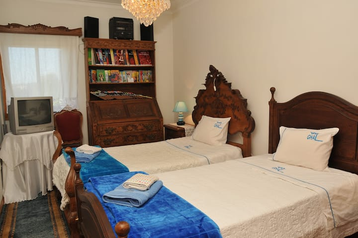 Quarto Twin Standard GuestHouseArcela