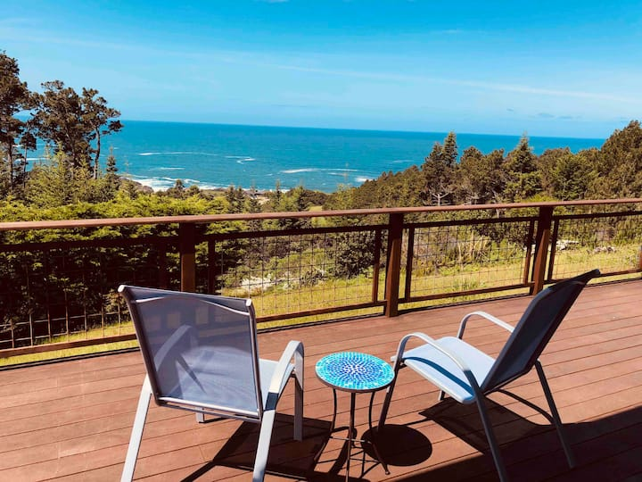 Behold The Sea-hilltop ocean view gem on 10 acres