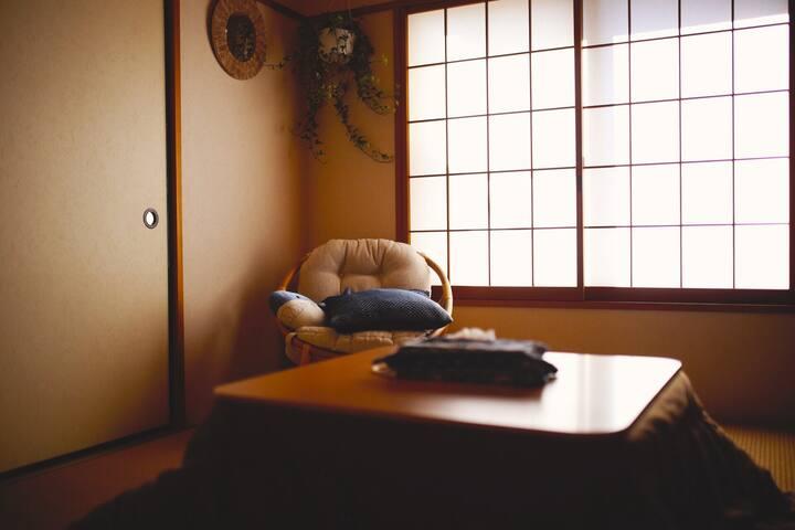 KAMAKURA镰仓の夢!接旅拍!!kikiの家-家族や女性友達大歓迎!赤ちゃん好き!~和室