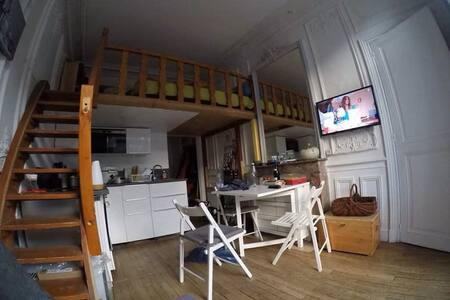 Studio avec mezzanine plein centre du Mont Dore - Le Mont-Dore