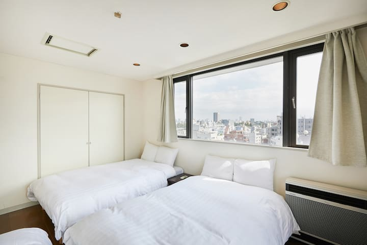 H149_Max14ppl  in central/3bed rooms * Free WIFI