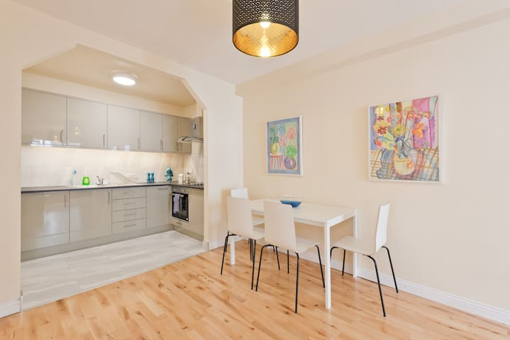 Modern & Very Central with Great Transport Links !