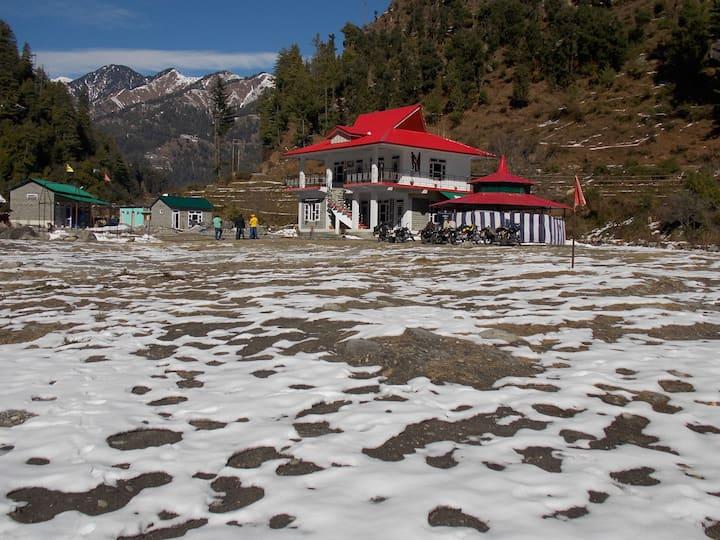 Trekker's Nest River-side Camp at Barot