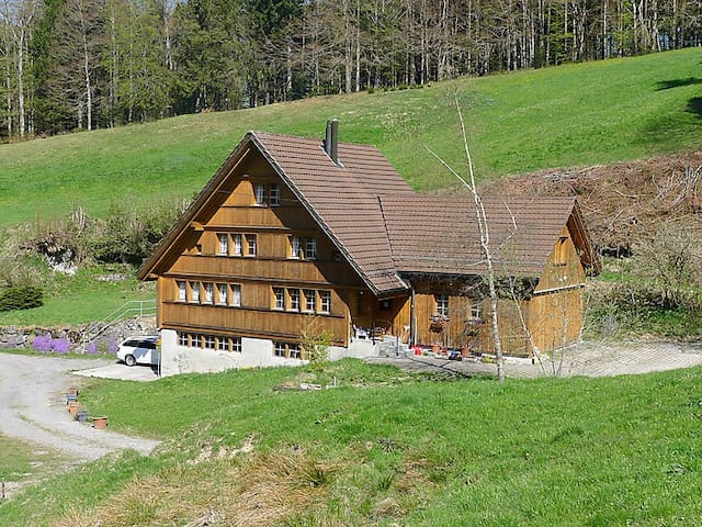 Idyllic vacation home in Appenzell's woods - Trogen - Apartment