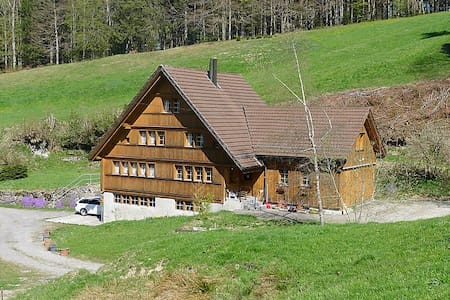 Idyllic vacation home in Appenzell's woods - Trogen - Huoneisto