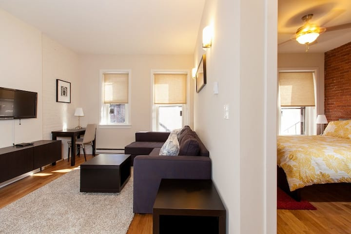 Brownstone|Shopping & Food on Newbury|1BR 1BA #4