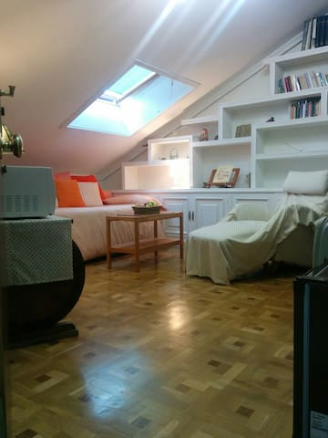 Attic-studio, 15 minutes far from Madrid by car. - Majadahonda