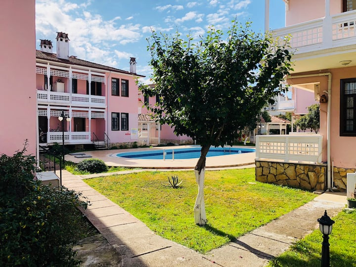 Best Location 1+1 house Close to the Calis Beach