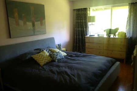 Fun host sharing townhouse - King sized bed! - Townhouse