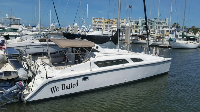 Sleep on a Catamaran Sailboat! - Port Aransas - Boat