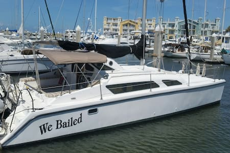 Sleep on a Catamaran Sailboat! - Port Aransas - Bateau