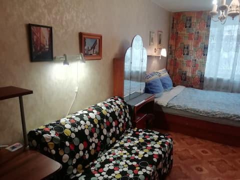 Апартаменты с двумя спальнями на высоте 5 этажа