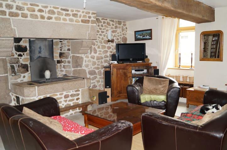 Chambre dans maison de campagne - Saint-Sauveur-des-Landes - Rumah