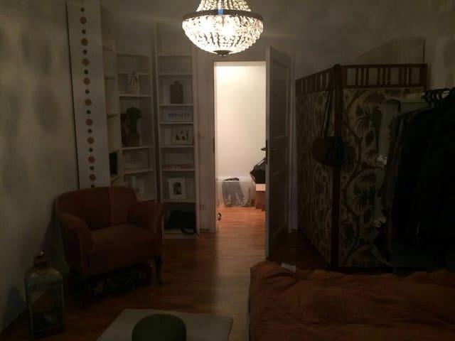 Privatzimmer in 3-Zimmer Altbauwohnung - Mannheim - Daire