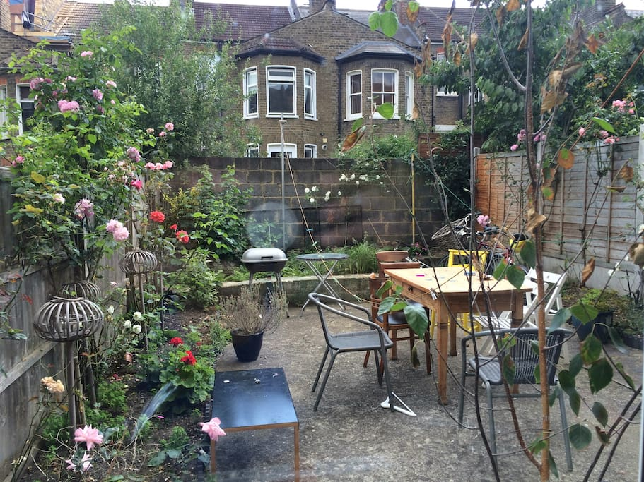 Our back yard garden to relax and enjoy a cup of tea...