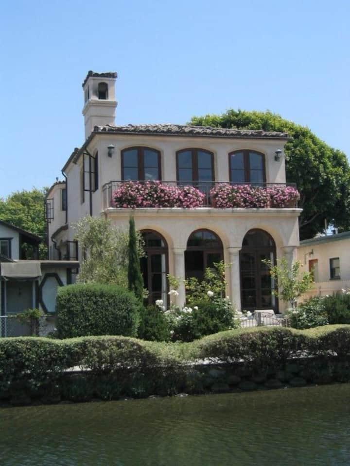 Elegant Mediterranean Canal Home