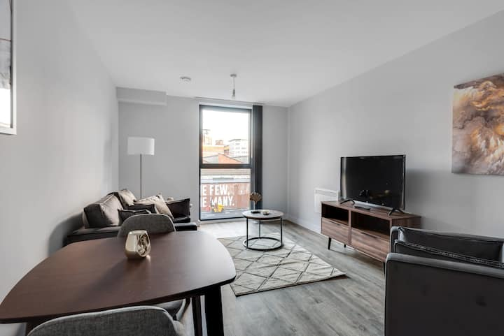 Beautiful 1 Bedroom Flat in Central Birmingham