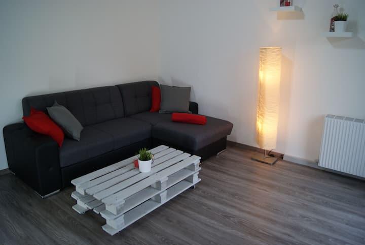 Modern apartment+GARAGE - central