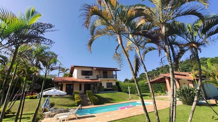 Casa de Campo Paraíso Ecológico Região de Atibaia.