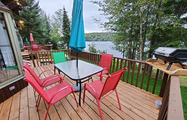Swiss chalet with sauna and lake view 55