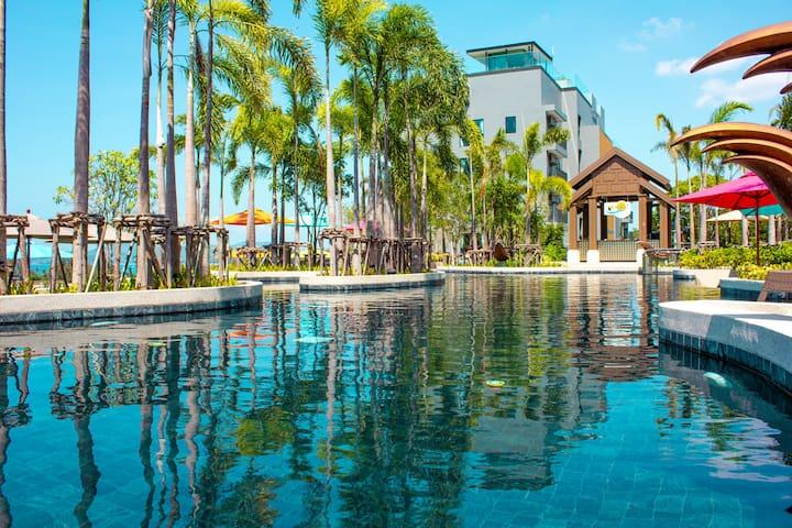 NEW😍Bright 1-bedroom Apartment, Surin Beach
