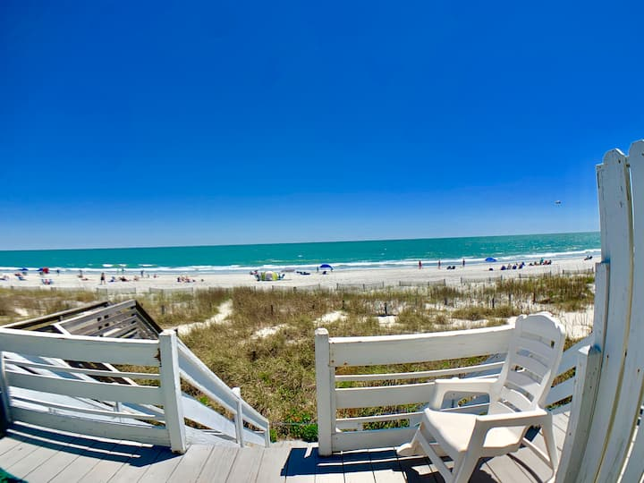 Surfside Beach OCEANFRONT, Almost Heaven 2BR/2Ba