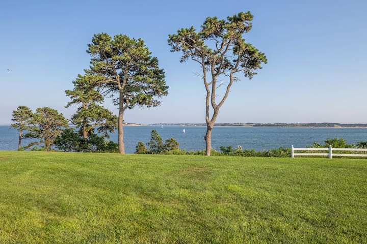 """Part of the 270"""" view of Pleasant Bay"""