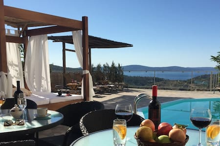 Villa Monica, pool & nice sea view on Brac island - Ložišća