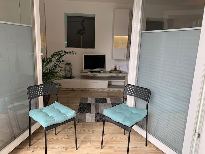 Gemütliche Wohnung mit guter Anbindung