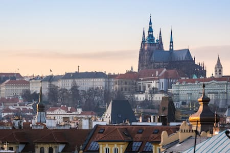 Great View Of Prague & Old Town, 2 bedrooms, ROY