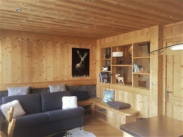 Praz-sur-Arly Appartement cosy ( 5 min Megève )