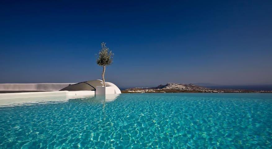 C.D Alba ste priv pool - Pyrgos Kallistis - Departamento