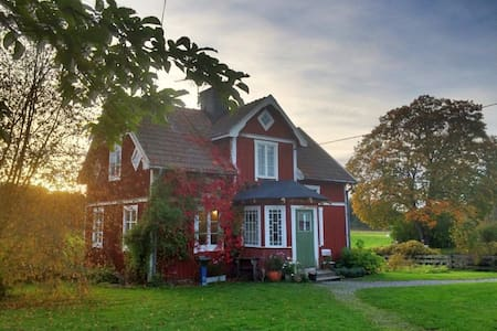 Farmhouse close to forests and lakes in Sörmland